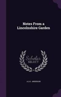 Notes from a Lincolnshire Garden