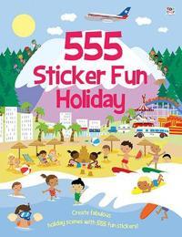 555 sticker fun holiday