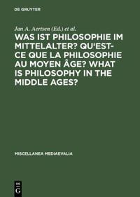 Was Ist Philosophie Im Mittelalter