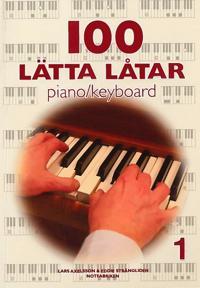 100 lätta låtar piano keyboard 1