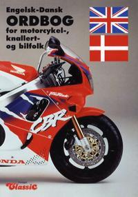 Engelsk-dansk ordbog for motorcykel-, knallert- og bilfolk