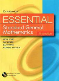 Essential Standard General Maths First Edition With Student Cd-rom With Cd