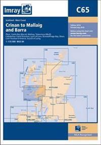 Imray chart c65 - crinan to mallaig and barra