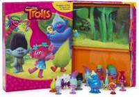 Dream Works Trolls (Sagobok, figurer, lekmatta)