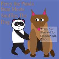 Percy the Panda Bear Meets Snuffles the Dog.