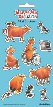 Mamma Mu och Kråkan - Stickers : 18 stickers