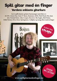 Spill gitar med én finger - John Stenersen pdf epub