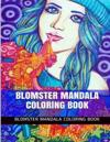 Blomster Mandala Coloring Book: Inspirational and Theravada Meditational Coloring Book for Adults