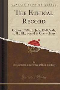 The Ethical Record