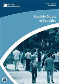 Monthly Digest of Statistics Vol 752, August 2008