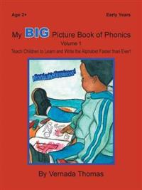 My Big Picture Book of Phonics - Vernada Thomas - pocket (9781491803288)     Bokhandel