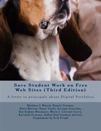 Save Student Work on Free Web Sites: A Letter to Principals about Digital Portfolios