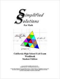 Cahsee Student Editon Workbook
