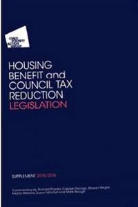 Cpags housing benefit and council tax reduction legislation supplement