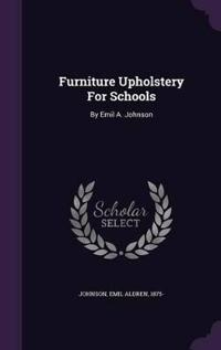 Furniture Upholstery for Schools
