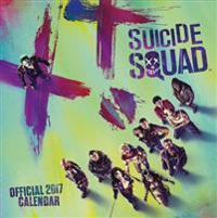 Suicide Squad Official 2017 Square Calendar
