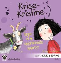 Krise-Kristine lager et opprørende oppstyr