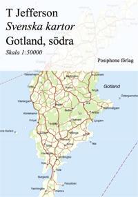 karta södra gotland Svenska kartor: Fårö med Gotska Sandön   T Jefferson   ebok  karta södra gotland