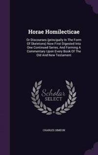 Horae Homilecticae
