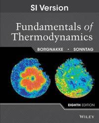 Fundamentals of Thermodynamics, 8th Edition SI Version