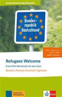 Refugees Welcome. Dari/Farsi, Tigri . Buch + Audio-Online