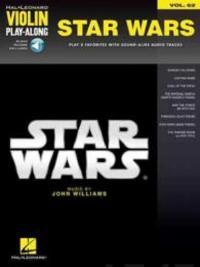 Star Wars: Violin Play-Along Volume 62