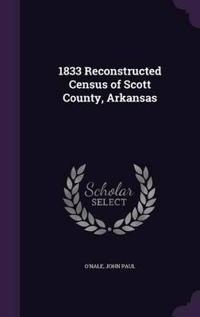 1833 Reconstructed Census of Scott County, Arkansas