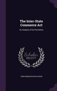 The Inter-State Commerce ACT