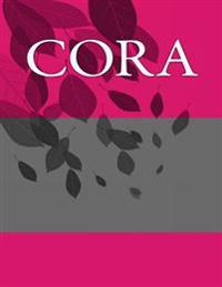 Cora: Personalized Journals - Write in Books - Blank Books You Can Write in