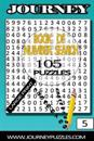 Number Search Puzzles: 105 Puzzles in Large 20pt Font (Volume 5)