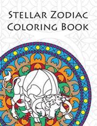 Stellar Zodiac Coloring Book
