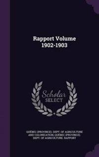 Rapport Volume 1902-1903