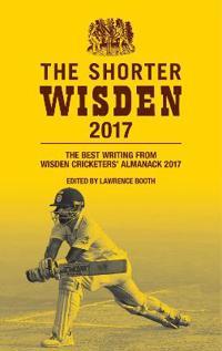 Wisden cricketers almanack 2017