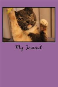 My Journal: Blank Lined Journal - 6x9 - Cat Lovers
