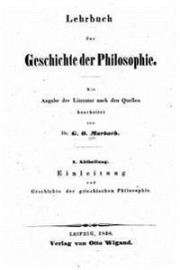 Lehrbuch Der Geschichte Der Philosophie