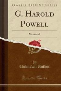 G. Harold Powell