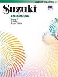 Suzuki Cello School, Vol 8: Cello Part, Book & CD