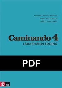 Caminando 4 Lärarhandledning Webb, tredje upplagan