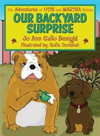 Our Backyard Surprise: The Adventures of Otis and Martha Series