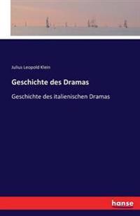 Geschichte Des Drama's.