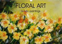 Floral Art Acrylic Paintings 2017