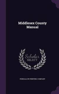 Middlesex County Manual