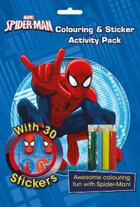 Marvel Spider-Man ColouringSticker Activity Pack
