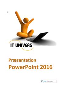 ICDL - præsentation, PowerPoint 2016