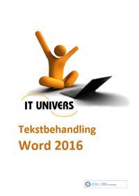 ICDL - tekstbehandling, Word 2016