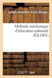 M�thode M�chanique d'�ducation Nationale