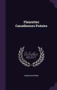 Fleurettes Canadiennes Poesies