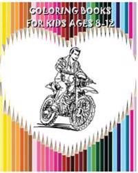 Coloring Books for Kids Ages 8-12: Gorgeous Drawings (+100 Pages)