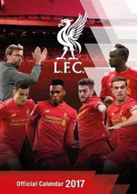 Liverpool Official 2017 A3 Calendar