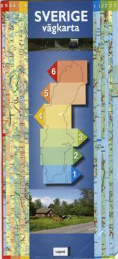 Sverige vägkarta Quickmap